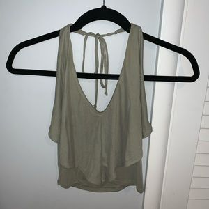 Urban Outfitters Halter Crop Top